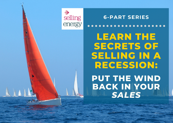 """Put the wind back in your sales"" so you can continue to create value for your customers."